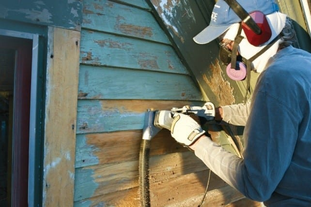 Wet Down All Interior Surfaces That Contain Lead Paint