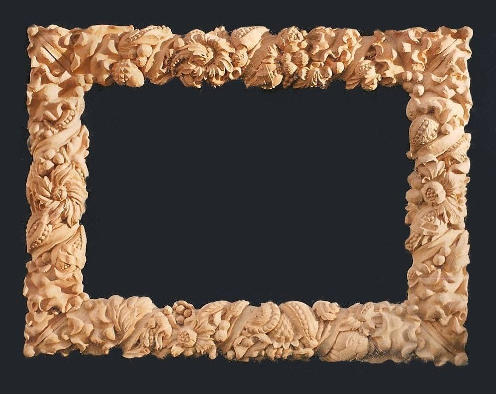 Wood Frame Carving 1