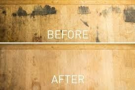 Apply The Mixture To The Stain With A Disposable Paintbrush Or Rag