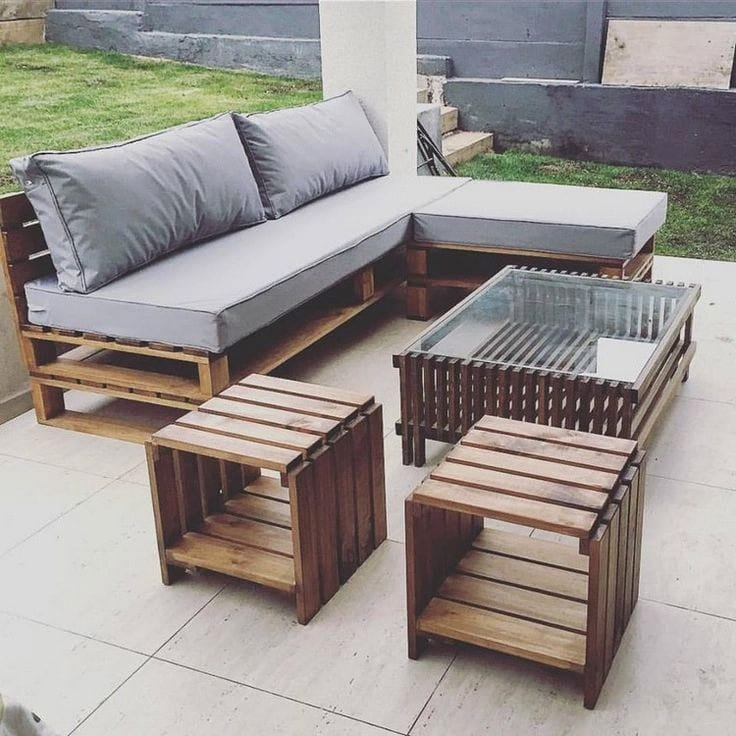Diy Outdoor Pretty Cantina Sectional Furniture 2