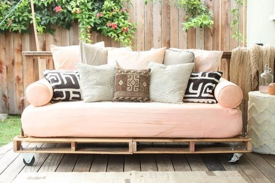 Daybed Pallet Patio 2