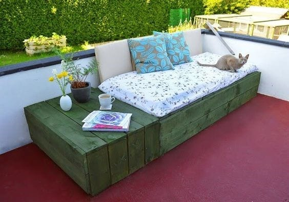 Daybed Pallet Patio 3