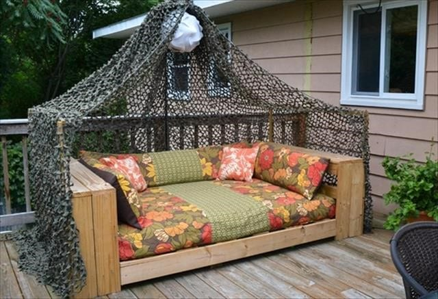 Daybed Pallet Patio