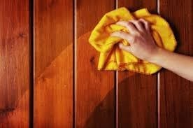 Remove Dust And Dirt From Wood