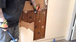 Removing The Wood Paneling Should Be Done Carefully