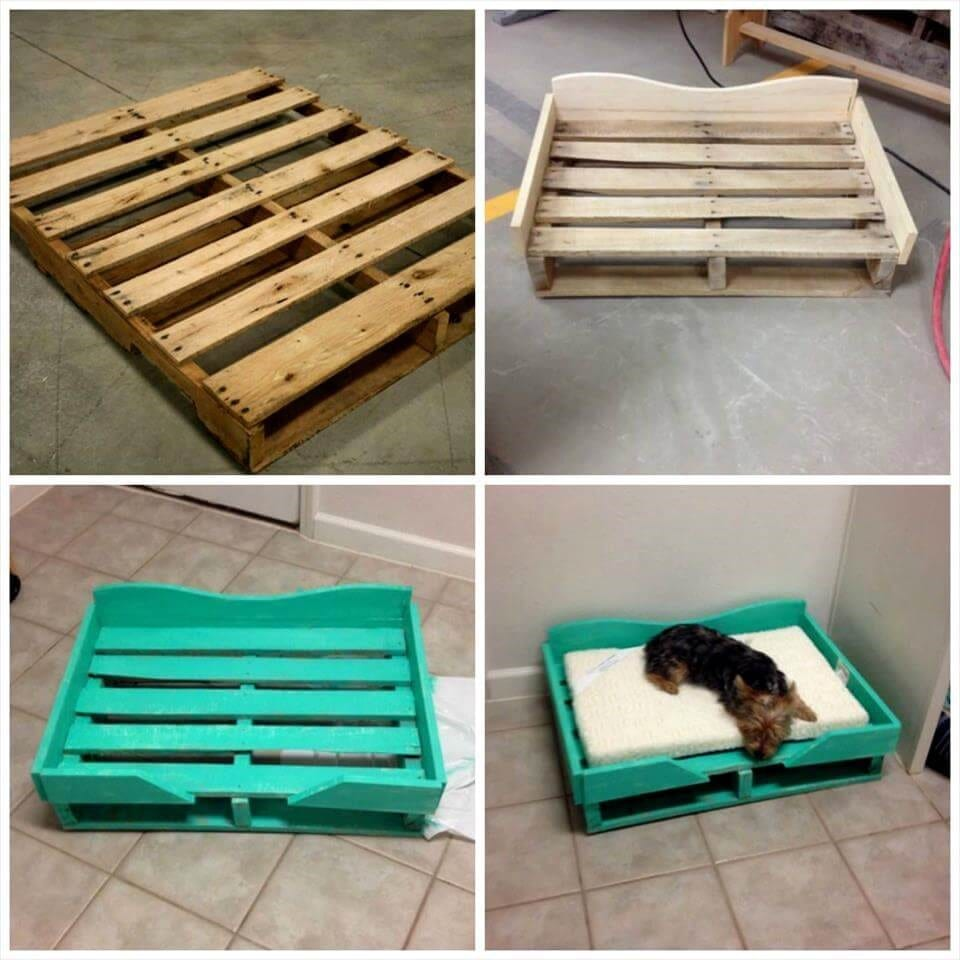 Simple And Cheap Diy Pallet Dog Bed