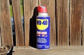 Spray Wd 40 On Areas With A Lot Of Residues