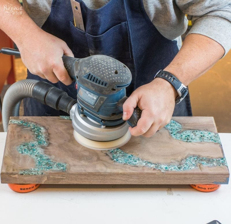 Step 5 How To Inlay Turquoise In Wood