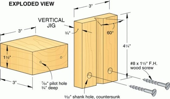 Make Pilot Holes In The Second Wood Surface