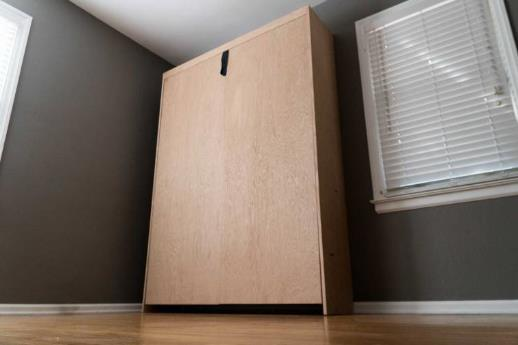 A Simple Murphy Bed For The Minimalist