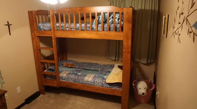Classic Looking Bunk Bed
