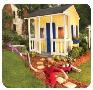 Georgia Pacific Traditional Playhouse By Platinum Project Plans 2