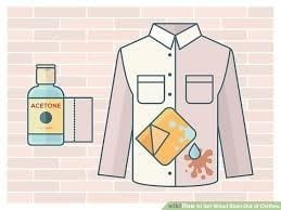 How To Remove Garment Wood Stain Using Acetone