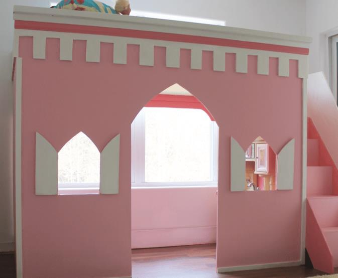 Loft Bed For Your Princess