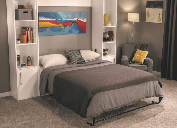 Magazine Style Tutorial For Making A Murphy Bed