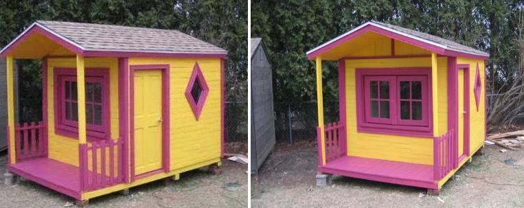 Pallet Playhouse By Instructables