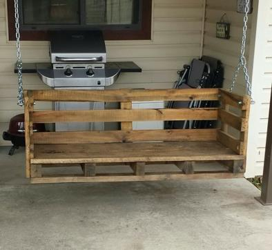 Pallet Porch Swing
