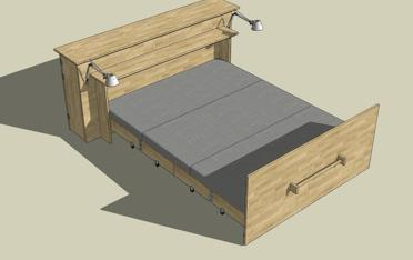 Roll Out Bed