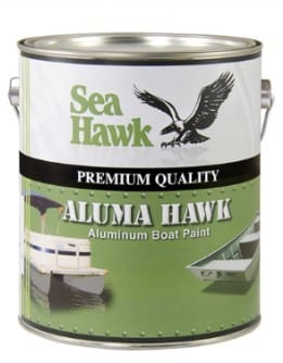Step 1 Combine Equal Parts Aluminum Paint And Spar Varnish In A Plastic Bucket