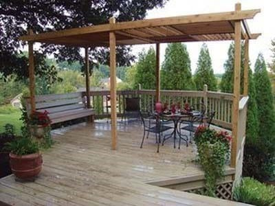 A Louvered Pergola Diy Plan