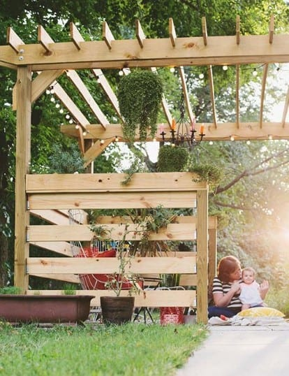 Beautiful Mess Pergola Plan