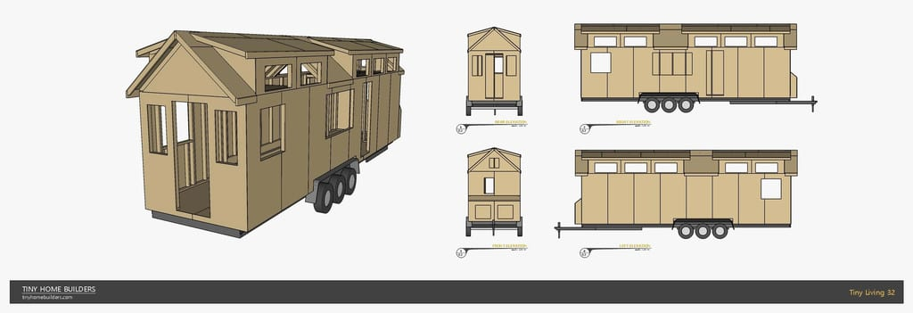 Pallet House On Wheels 2