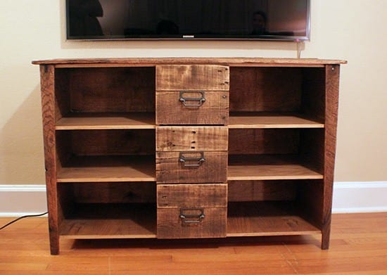 Reese Media Cabinet