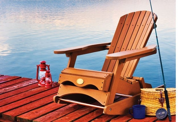 The Red Rocker Adirondack Chair