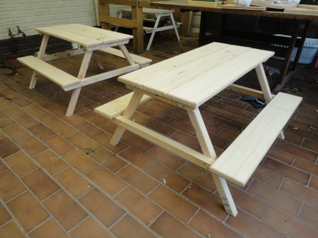 The Wood Father Table
