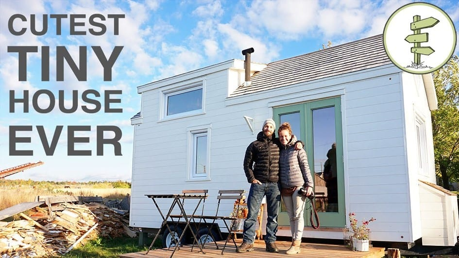 Tiny House With Incredible Interior Design Built In 40 Days