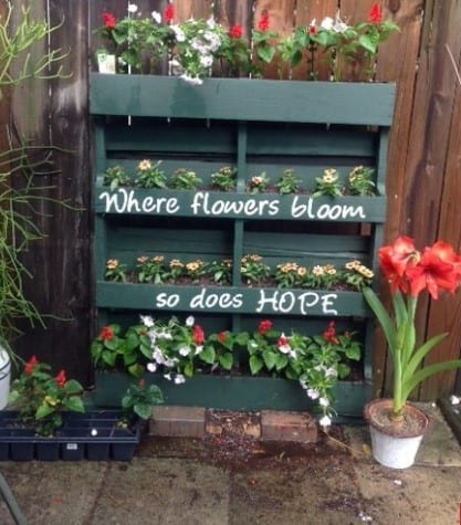 Beautiful Pallet Planter By Country Living