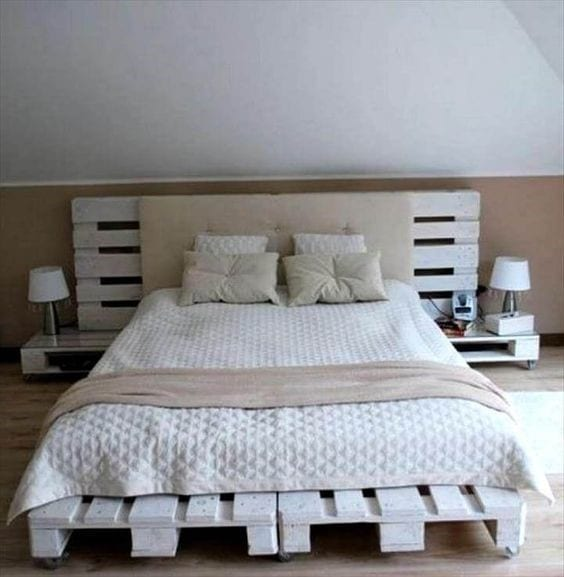 99 Pallet Bed DIY Plans - Page 10 of 10 - Cut The Wood on Pallet Bed Design  id=33951