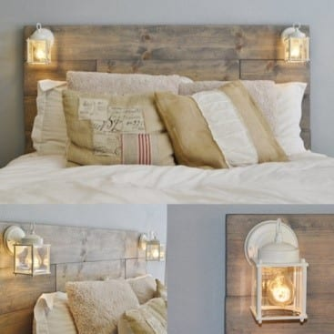 Cozy Pallet Bed Frame And Bed Boards