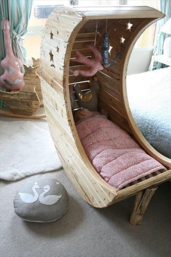 Crib Pallet Bed Frame