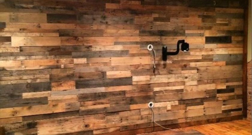 Diy Mixed Wood Wall