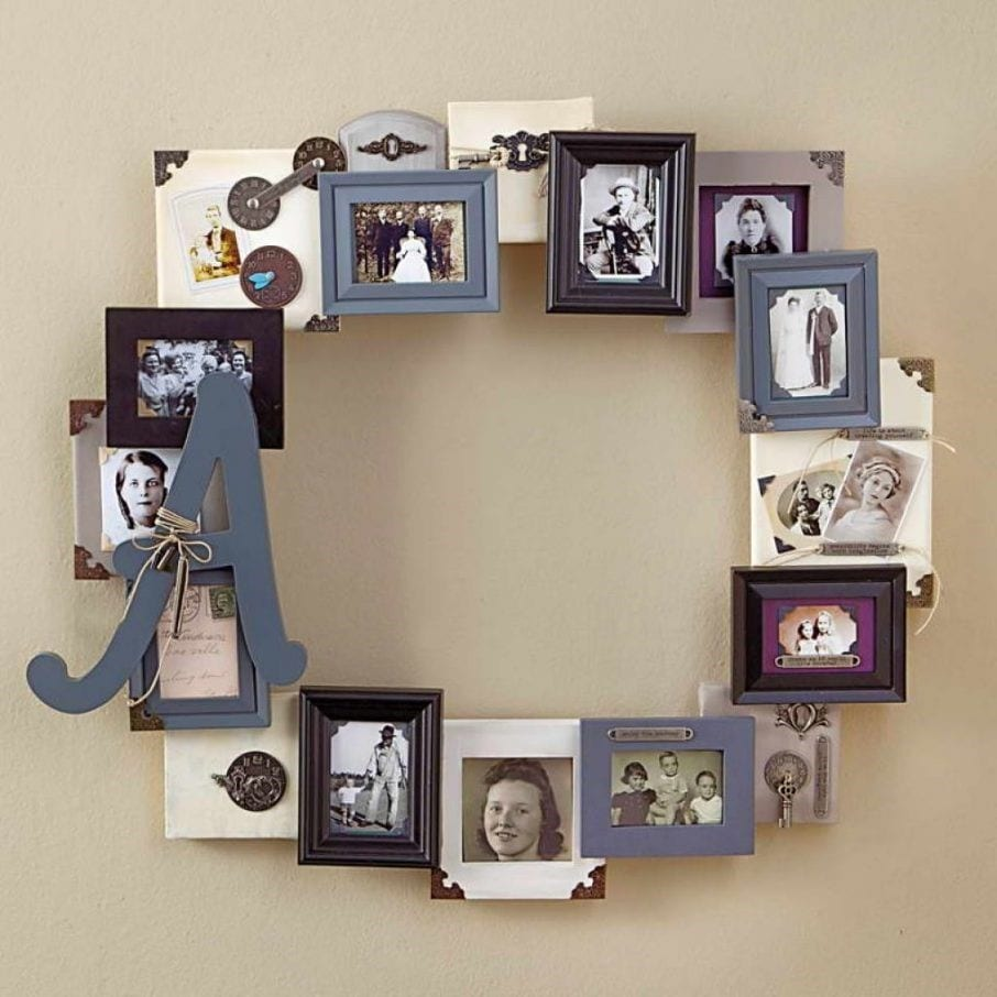 Diy Round Photo Collage