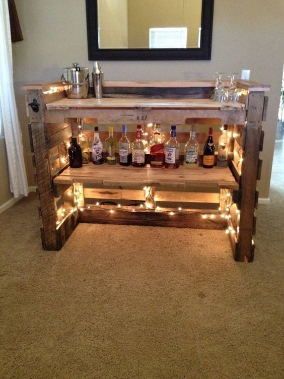 Epic Pallet Bar Design