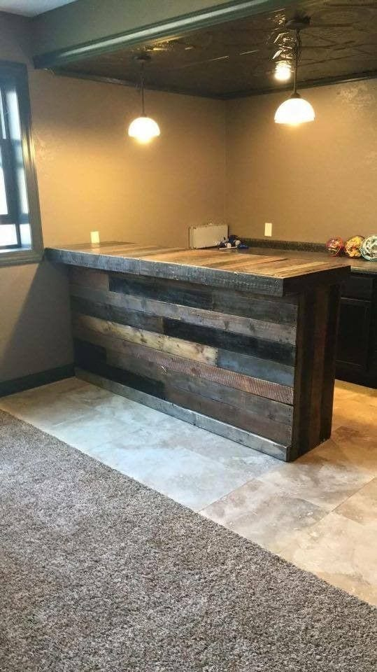 Simple Pallet Bar Design