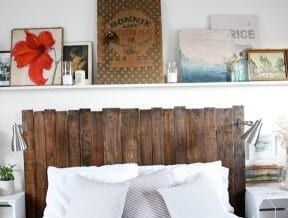 Very Simple Easy To Make Pallet Head Board