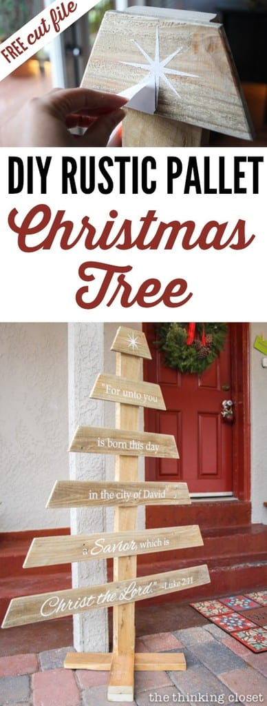 Wooden Pallet Christmas Tree 10