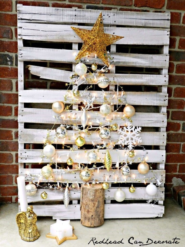 Wooden Pallet Christmas Tree 5