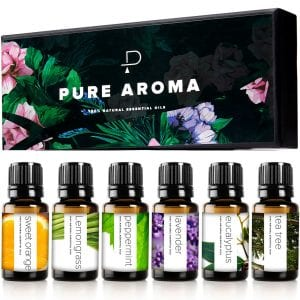Essential oils for Aromatherapy by PURE AROMA